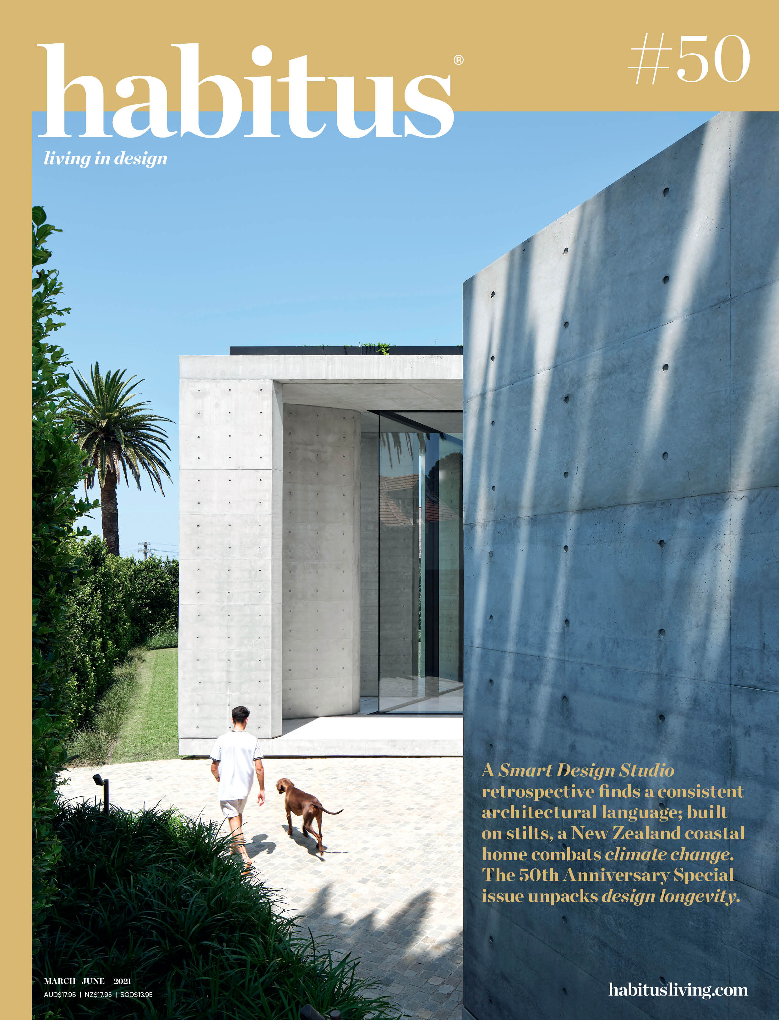 Habitus Magazine Issue 50 Anniversary Special Front Cover