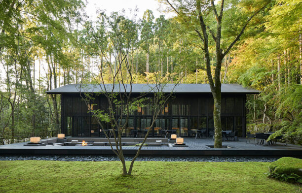 Tropical modernist architecture refined at Aman Kyoto by Kerry Hill