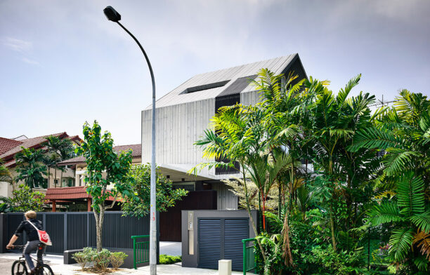 NS House by K2LD Architects is a rare yet beautiful example of brutalist architecture in Singapore