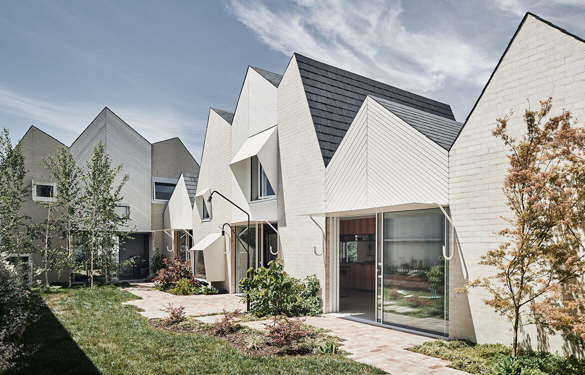 Rae House by Austin Maynard Architects is a grand family residence in the heart of North Fitzroy, Melbourne.