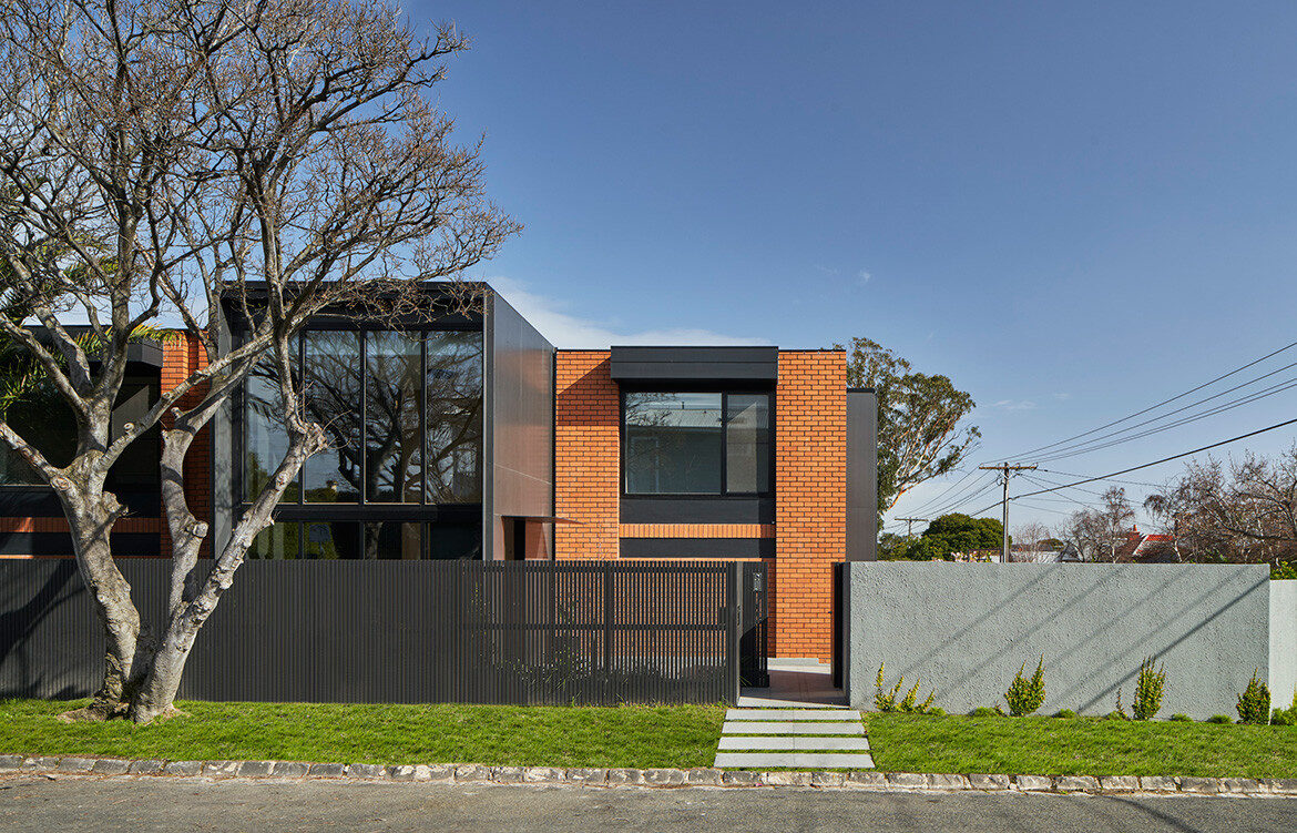 Solid House by Coy Yiontis is the extreme makeover of a suburban 1970s brick house in Elsternwick, Melbourne
