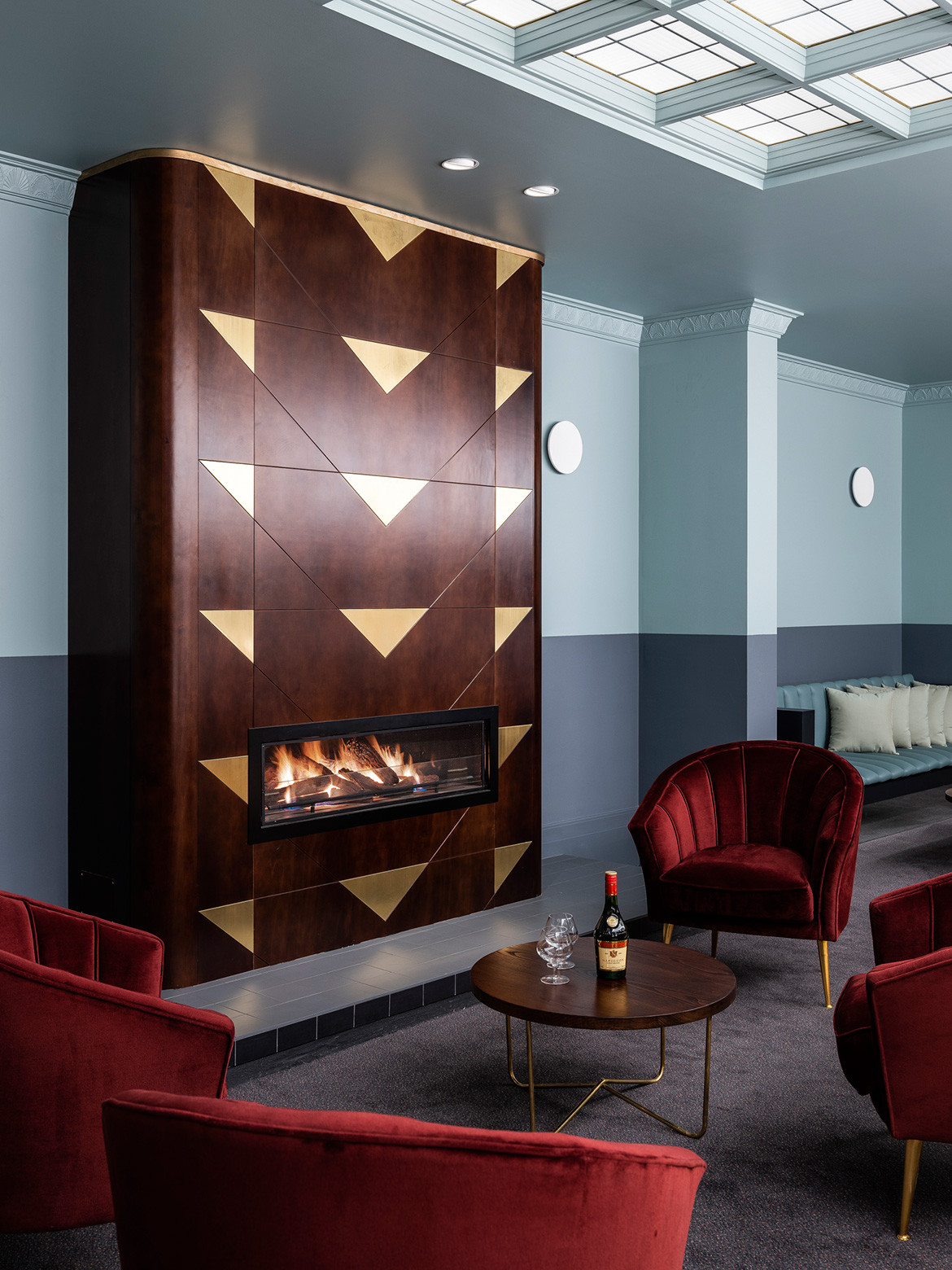Art deco design meets regional charm at The Tattersalls Hotel, a recent restoration project by hospitality design connoisseurs Luchetti Krelle.
