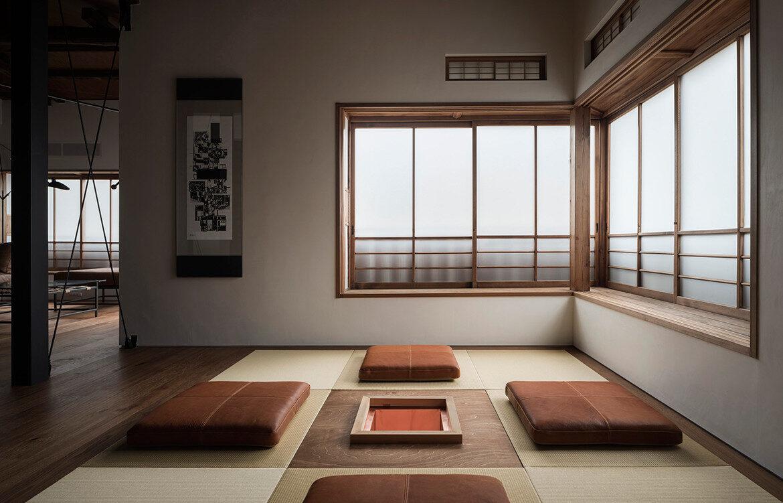 Japanese minimalism in TRUNK(HOUSE) a former geisha house turned Airbnb in Kagurazaka Tokyo