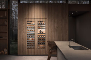 Wine Climate Control Residential Kitchen Timber