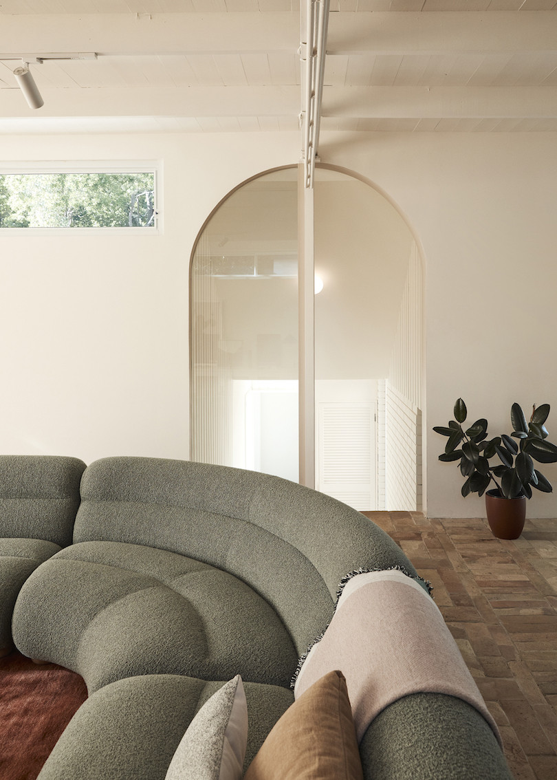 Living room Wahroonga House by Tom Mark Henry.