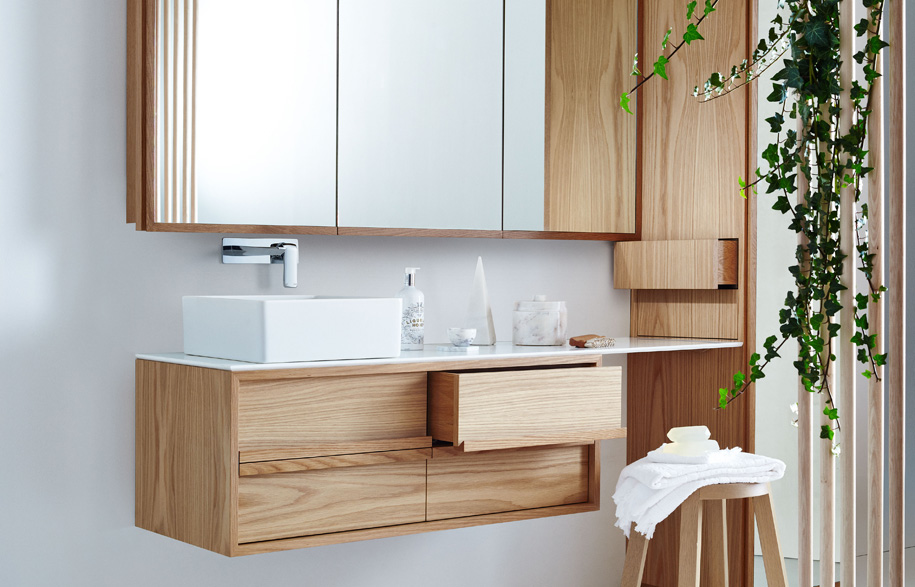 reece bathroom cabinets issy by zuster brings into the bathroom habitus 14126