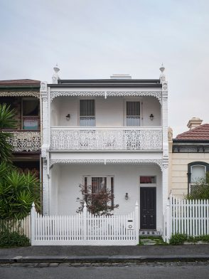 Fitzroy Terrace by Taylor Knights heralds a highly considered contemporary design, that quite literally turns the conventional perception of the Victorian terrace on its head.