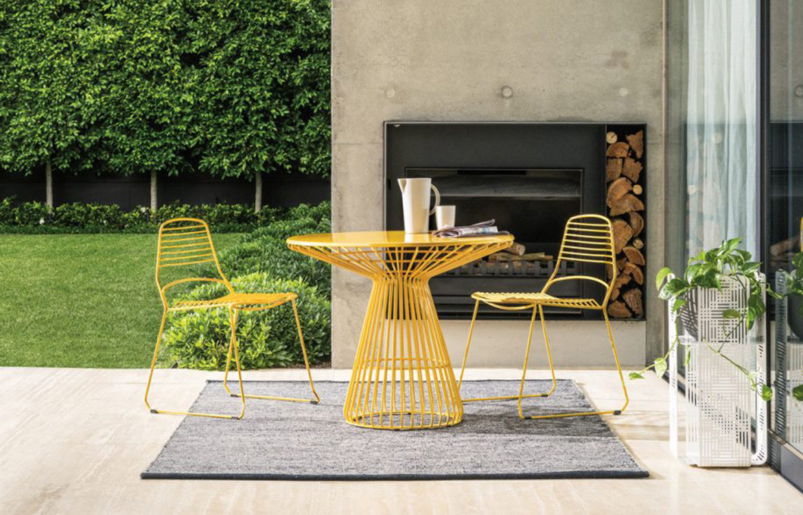 Jill Table and Chairs from Tait