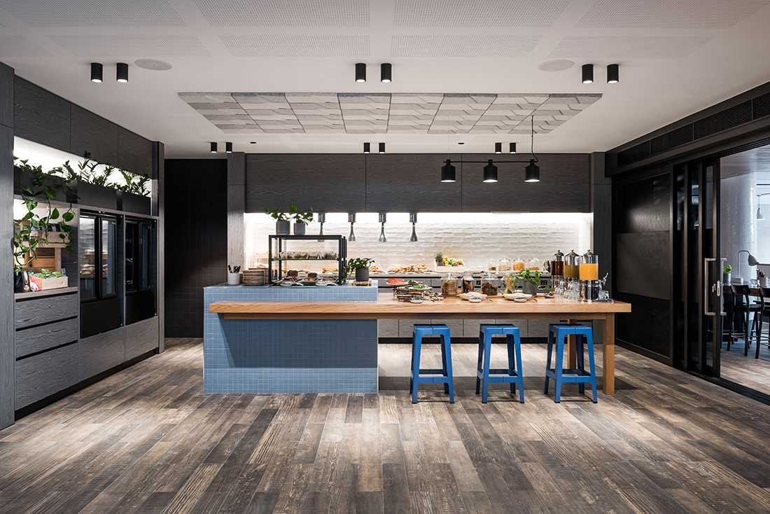 Kitchen. Aloft by Design Theory, photography by Dion Robeson, on Habitus Living