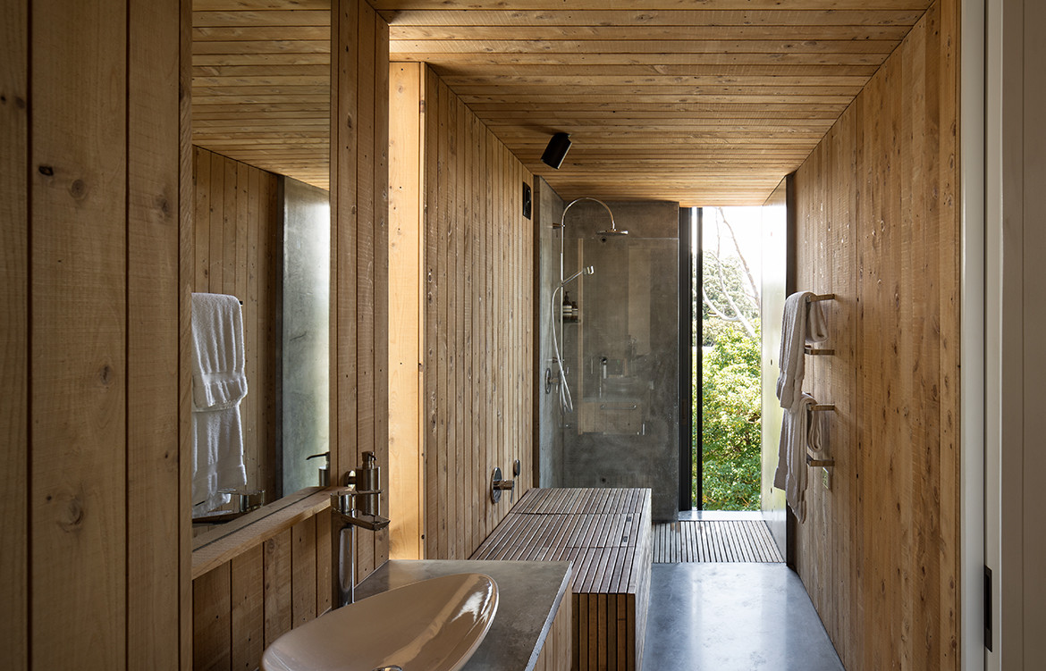 339 House Strachan Group Architects Bathroom
