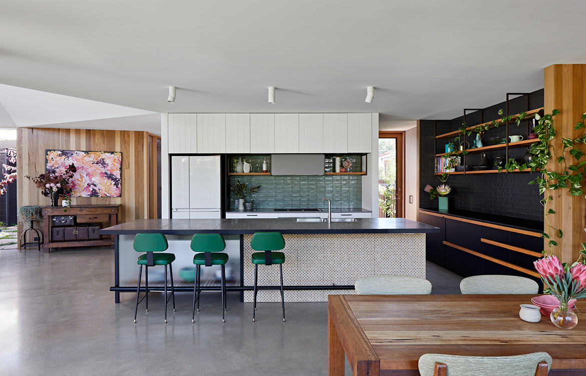 BENT Annexe BENT Architecture Tatjana Plitt kitchen dining open