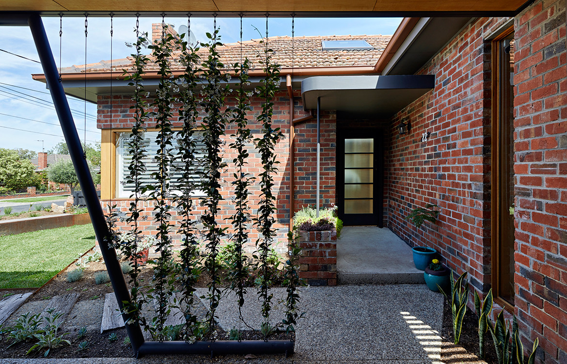 BENT Annexe BENT Architecture Tatjana Plitt greenwall