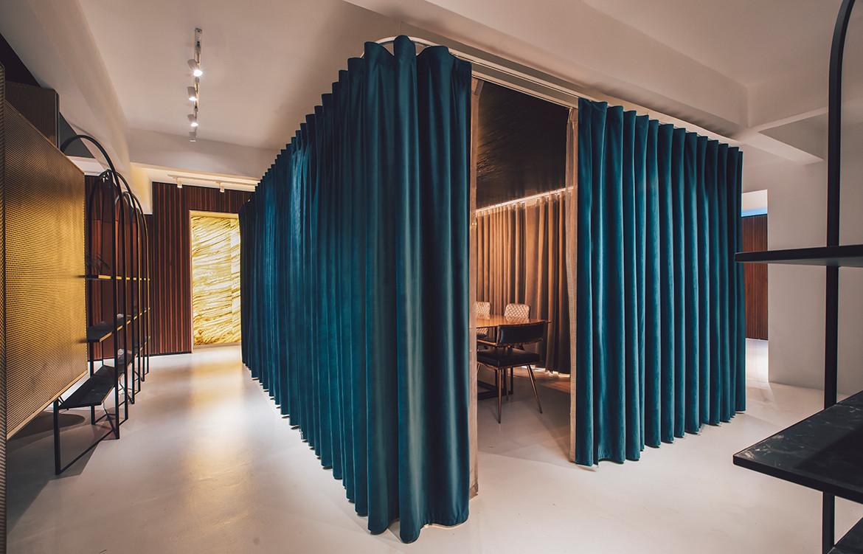 Mantab Group Kuala Lumpur S/LAB10 board room curtains