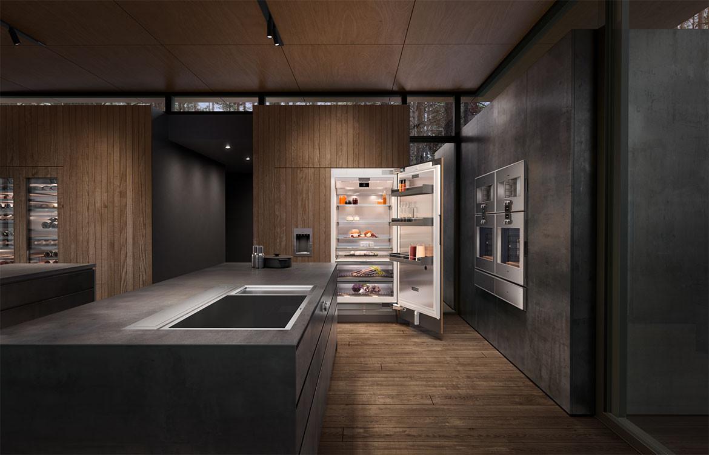 Refrigerator Residential Kitchen