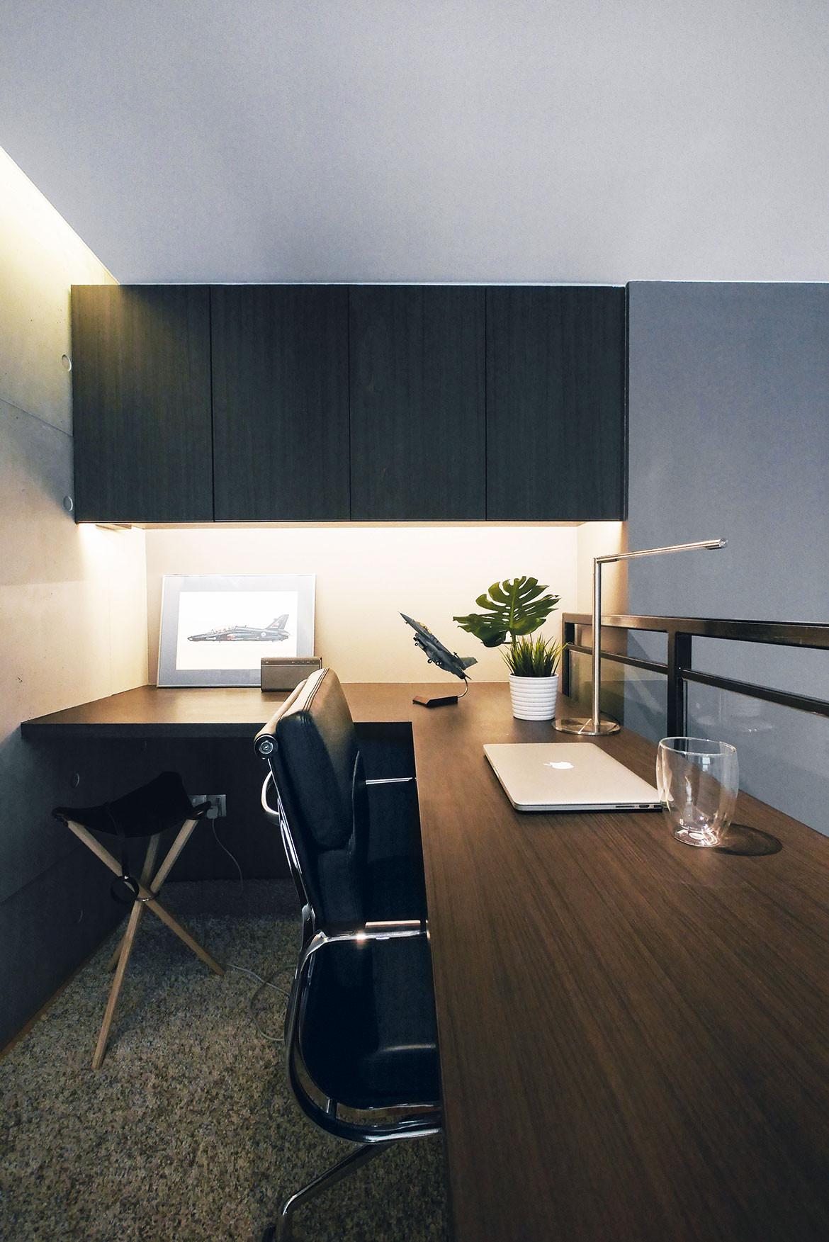 4 Great Loft Ideas Lookbox Living bachelor pad study