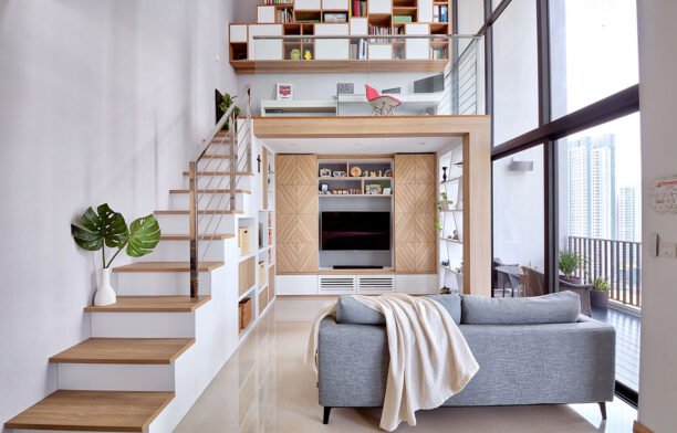 4 Great Loft Ideas scandinavian stairs
