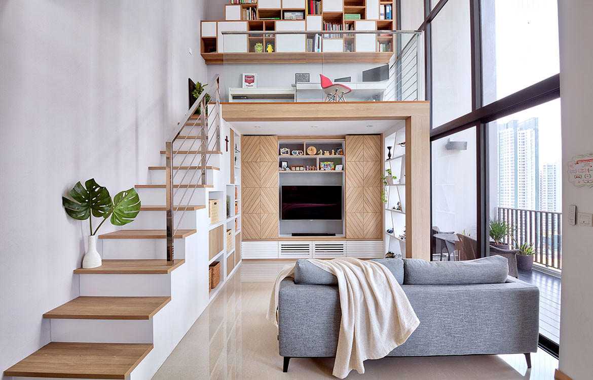 4 Great Loft Ideas Lookbox Living scandinavian stairs