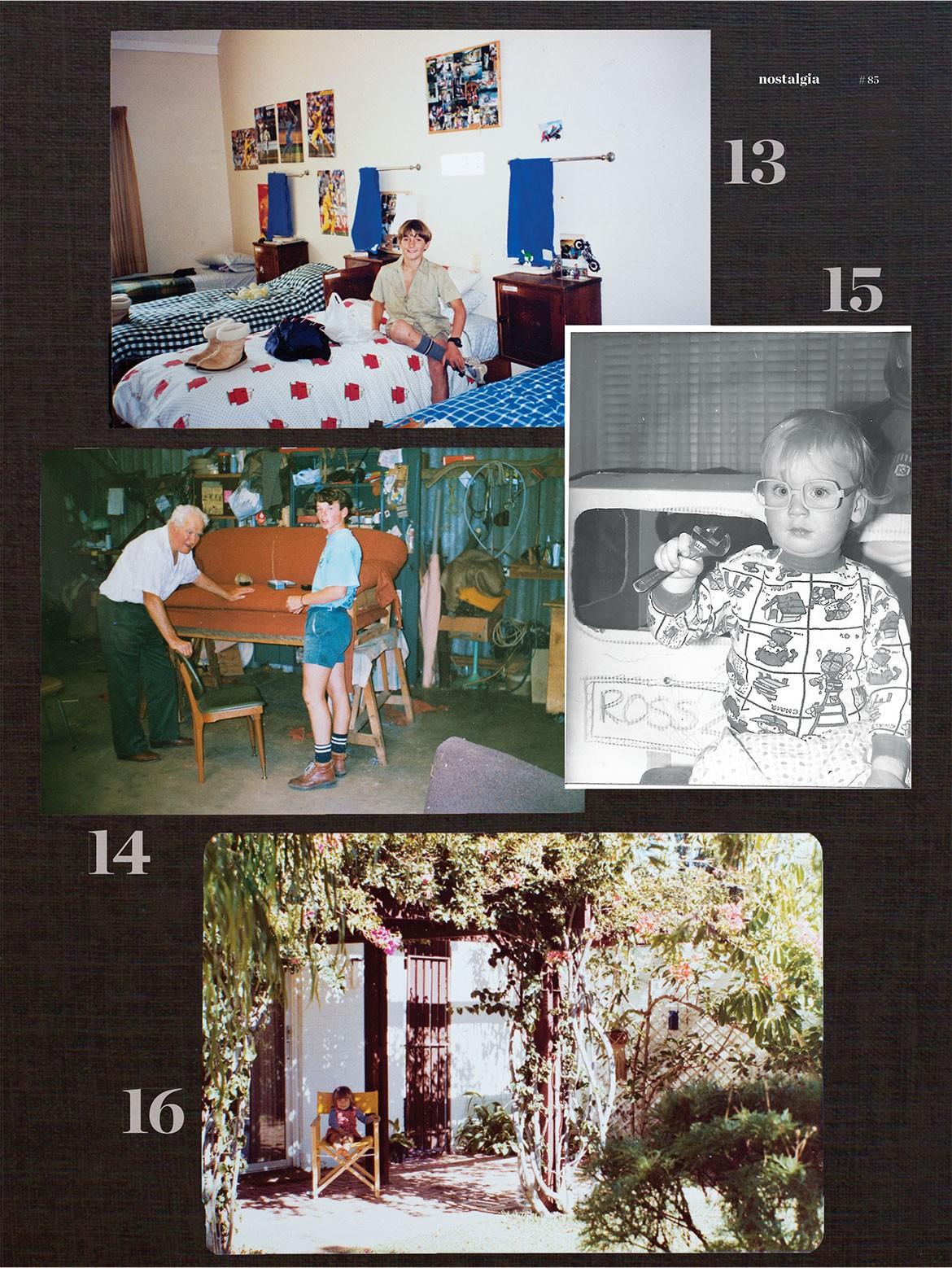 Habitus Family Album Henry Wilson Jon Goulder Ross Gardam Adam Goodrum