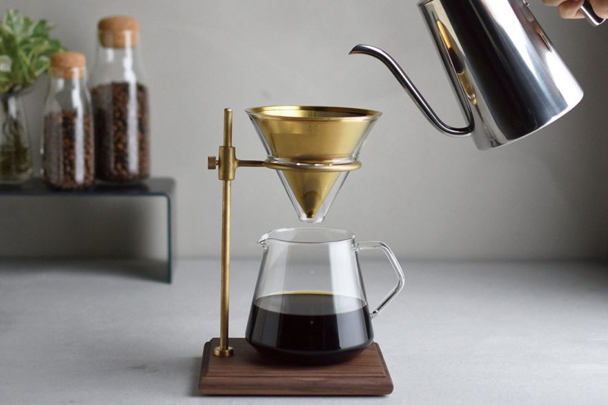 The Kinto slow coffee system