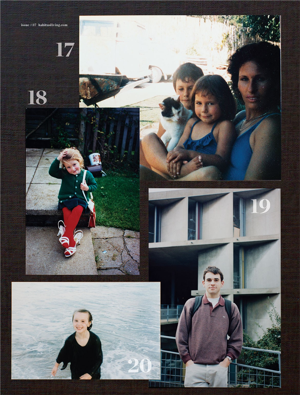 Habitus Family Album Nicole Monks Emma Elizabeth Tom Ferguson Holly Cunneen