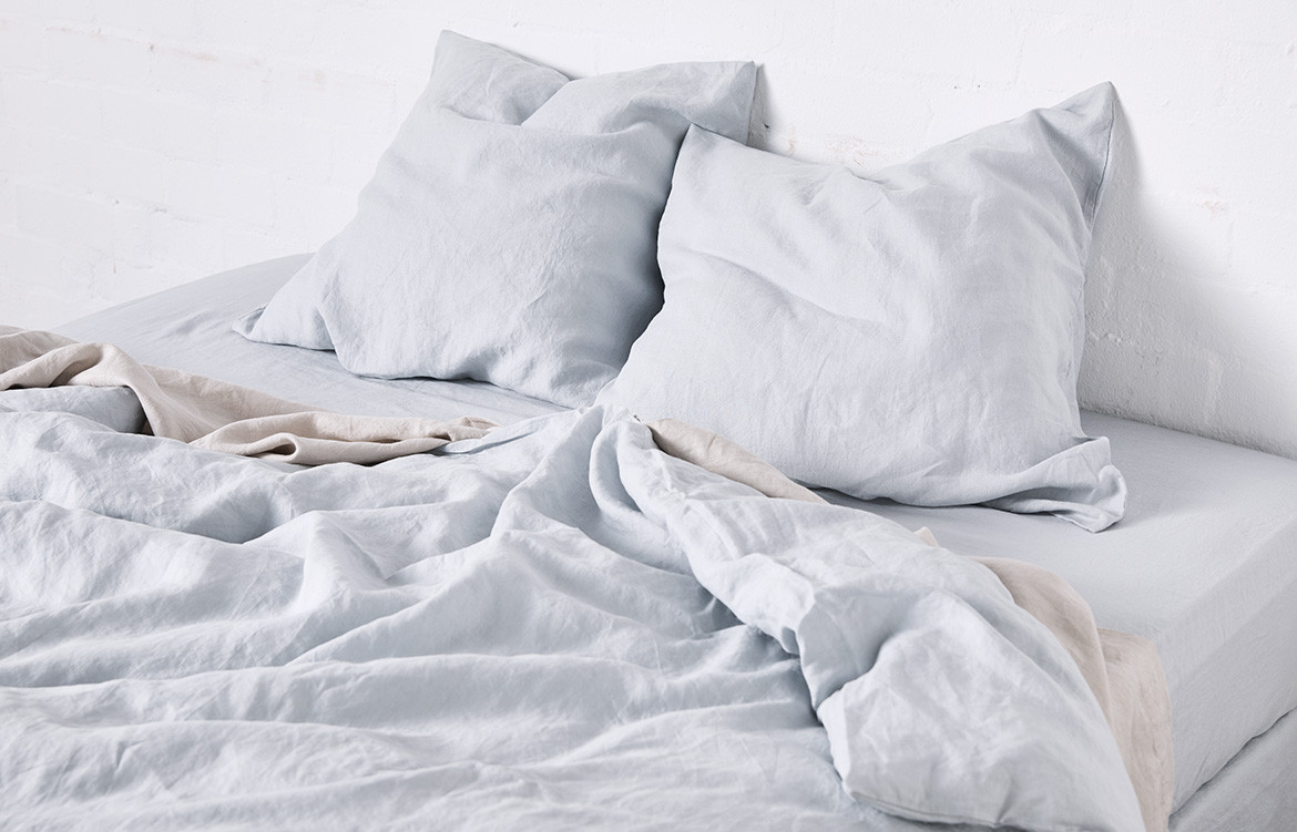 Mist IN BED duvet cover
