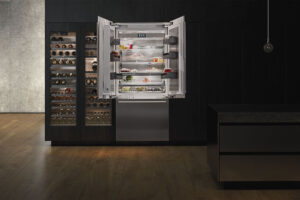 French-Door Fridge Freezer Residential Kitchen