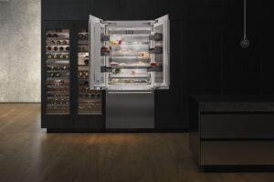 French-Door Fridge Freezer Residential Kitchen