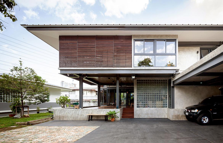 713 House Junsekino Architect and Design CC Spaceshift Studio entrance