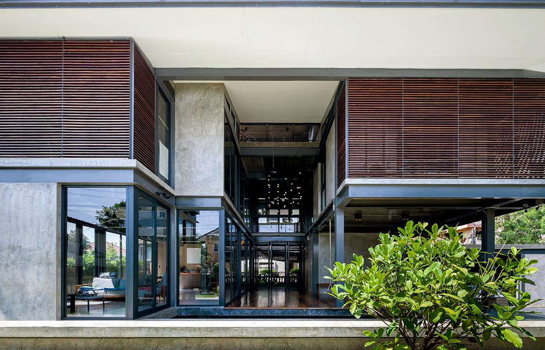 713 House Junsekino Architect and Design CC Spaceshift Studio front facade house