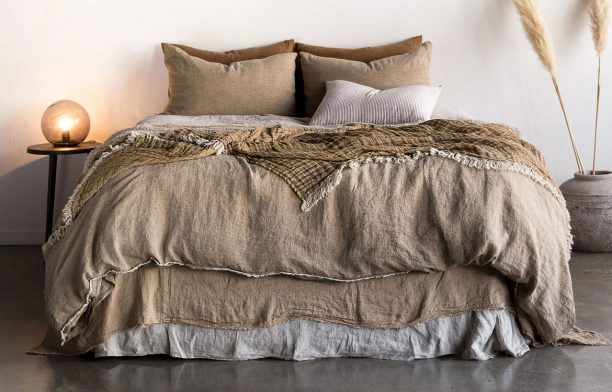 Flocca linen bedding, Hale Mercantile Co. | Habitus House of the Year Design Hunter Package