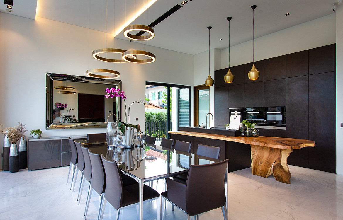 Frankel House Aamer Architects cc Amir Sultan dining