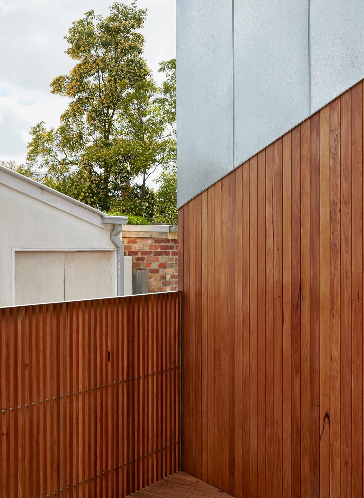 Taranaki Rift House Architecture Architecture front gate