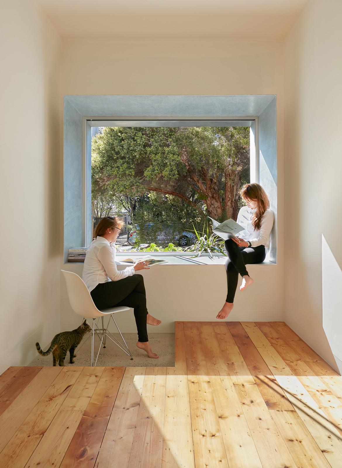 Taranaki Rift House Architecture Architecture window bench