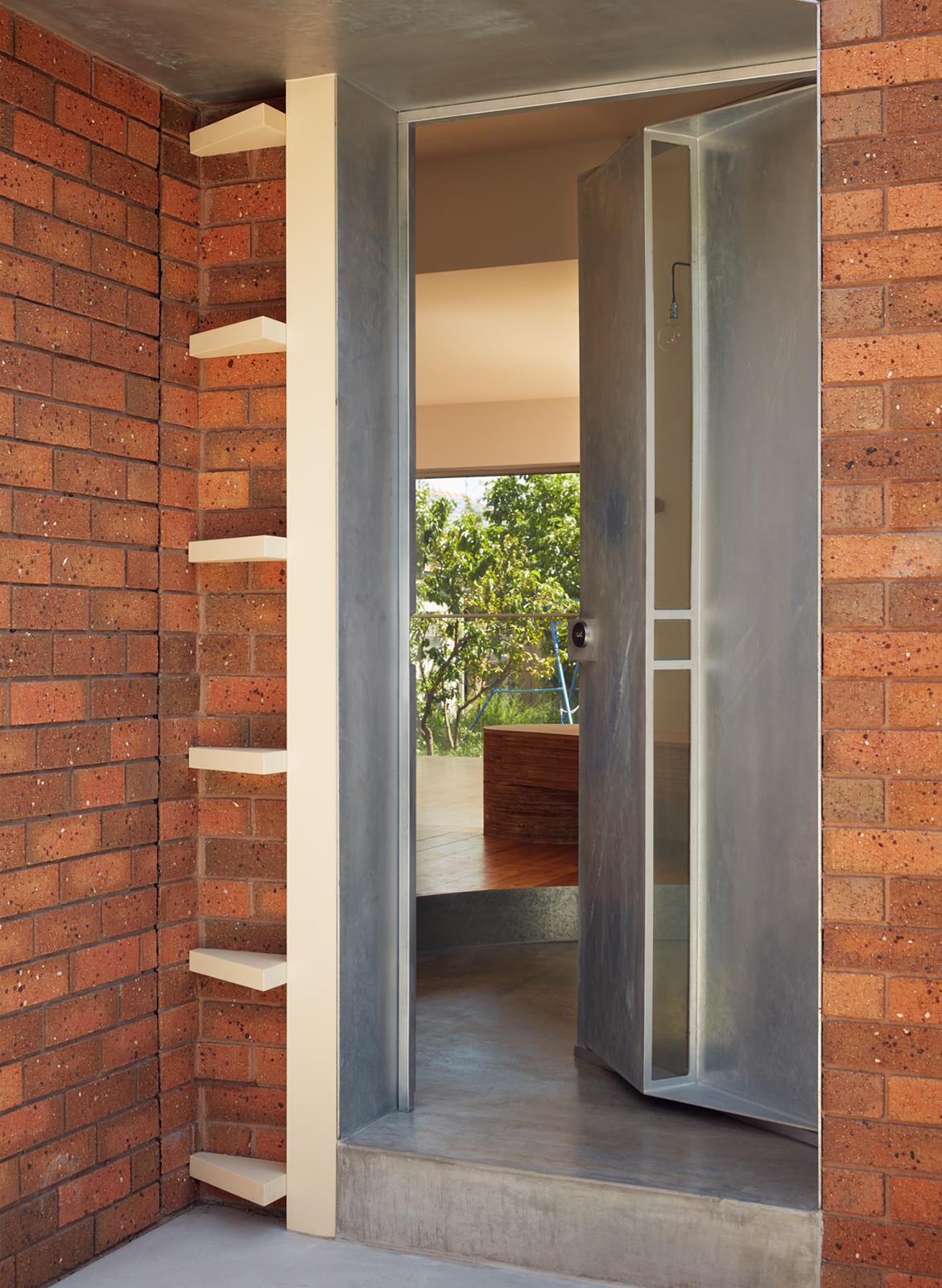 Taranaki Rift House Architecture Architecture entrance