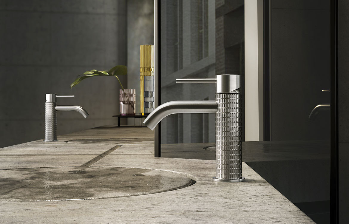 316 bathroom collection, Meccanica tapware by Gessi from Abey Australia