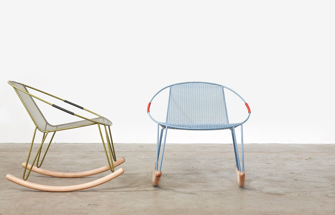 Adam Goodrum Volley Rocker Rocking Chair for Tait Australian furniture design