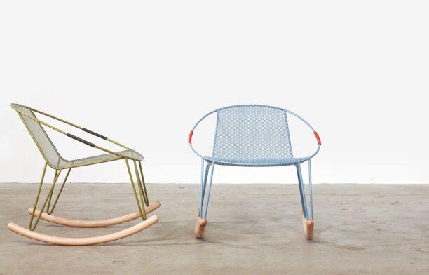 Adam Goodrum Volley Rocker Rocking Chair for Tait Australian furniture design
