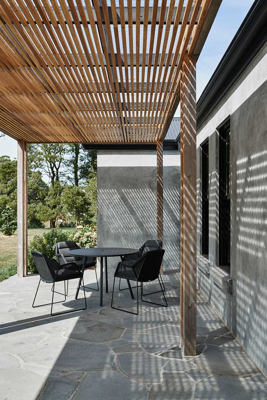 Adam Kane Architects Macedon Ranges Veranda