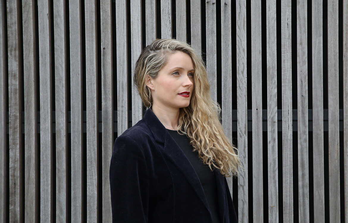 New Zealand-born, Sydney-based emerging architect, Adele McNab