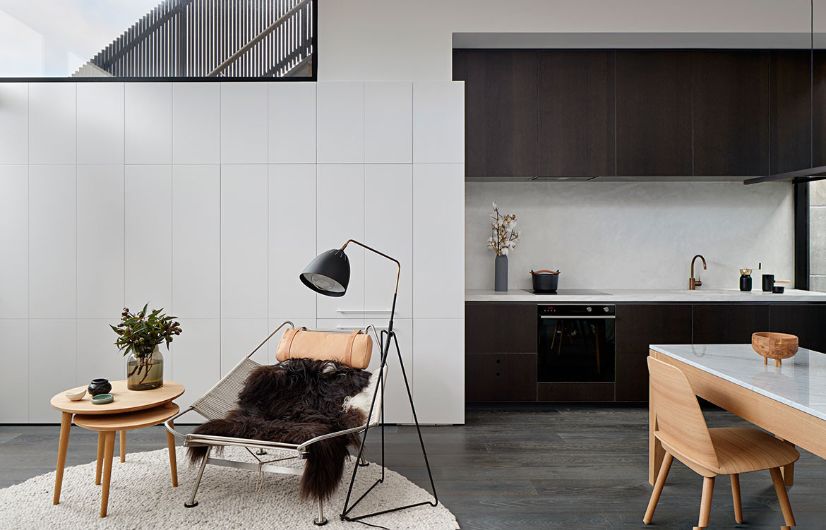 Albert Park House Whiting Architects cc Shannon McGrath Flag Halyard Chair