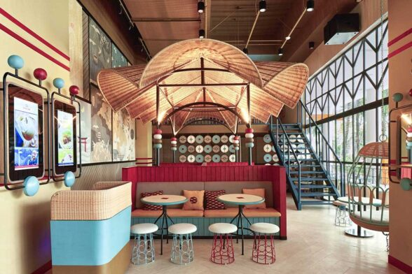 Alvin T Studio Gyoza Bar interior dumpling