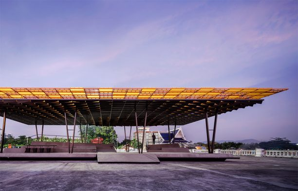 The Flow multipurpose pavilion by Department of Architecture Co., Thailand | Amata Luphaiboon