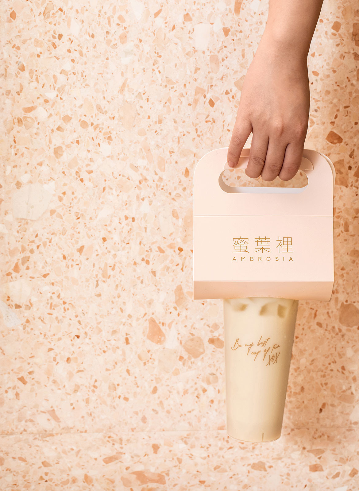 Ambrosia Biasol Bubble Tea CC James Morgan branding package