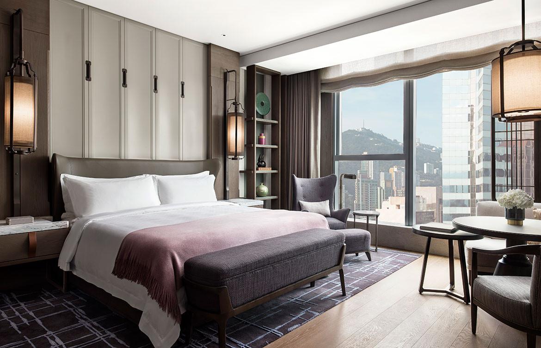 André Fu Design AFSO St Regis Hong Kong bedroom