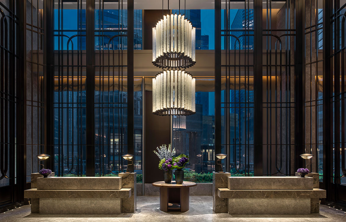 André Fu Design AFSO St Regis Hong Kong reception