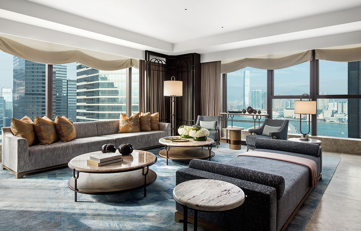 André Fu Design AFSO St Regis Hong Kong seating