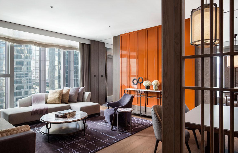 André Fu Design AFSO St Regis Hong Kong suite