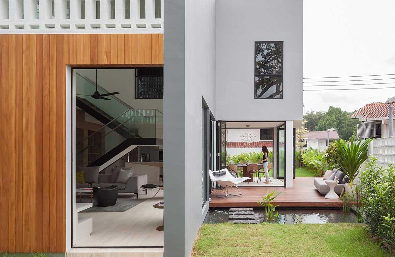 Ang Mo Kio Residence exterior backyard