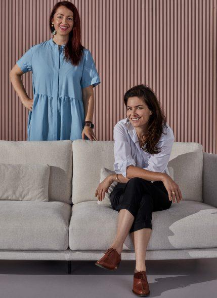Arflex Australian Art Italian Design Australia 2019 Campaign Anna Wili Highfield and Dana Tomic Hughes yellowtrace