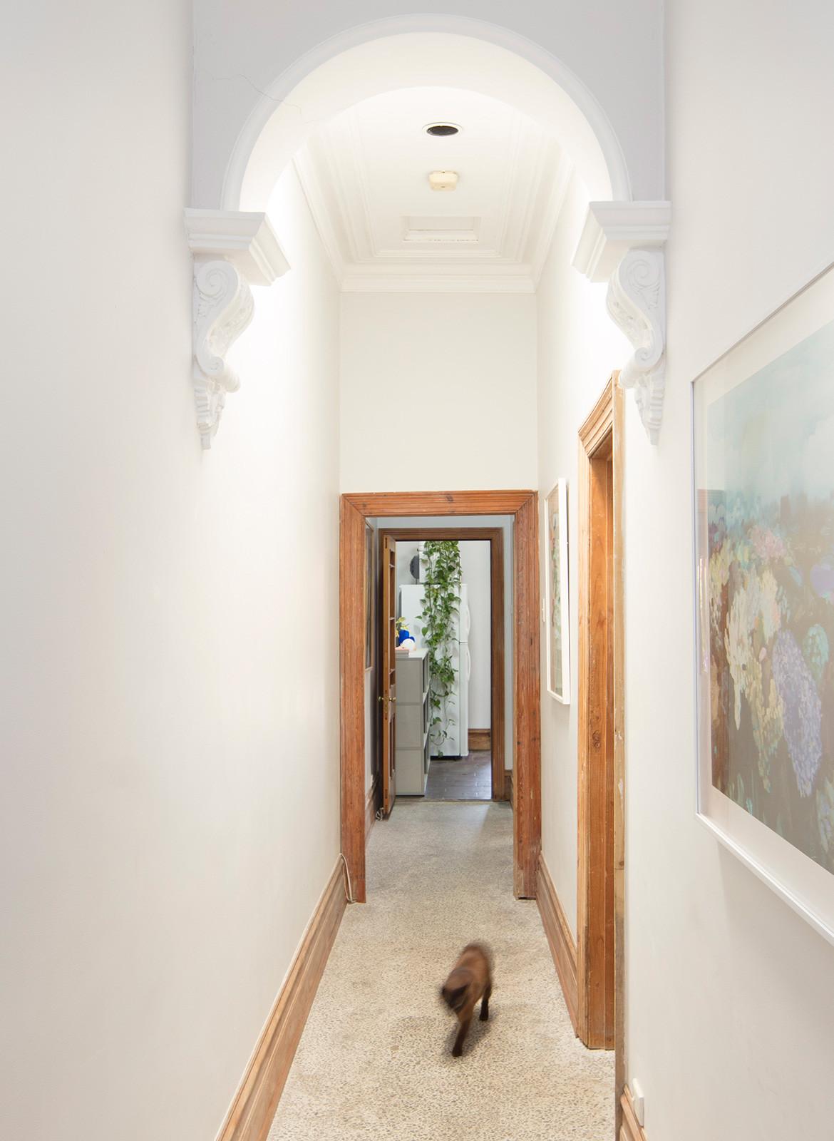 Anna Ross Kester Black CC Benjamin Hosking corridor